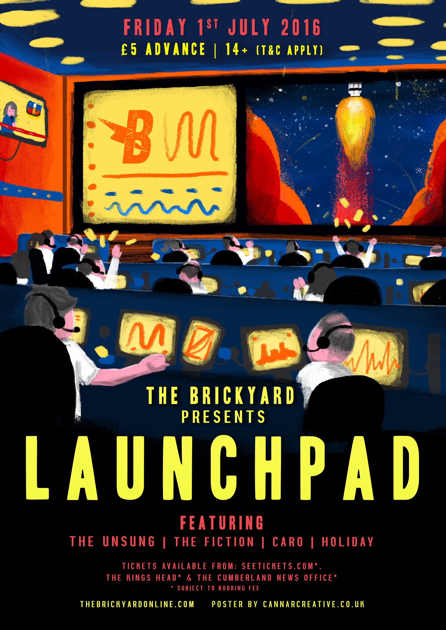 The Brickyard Carlisle Space Illustration