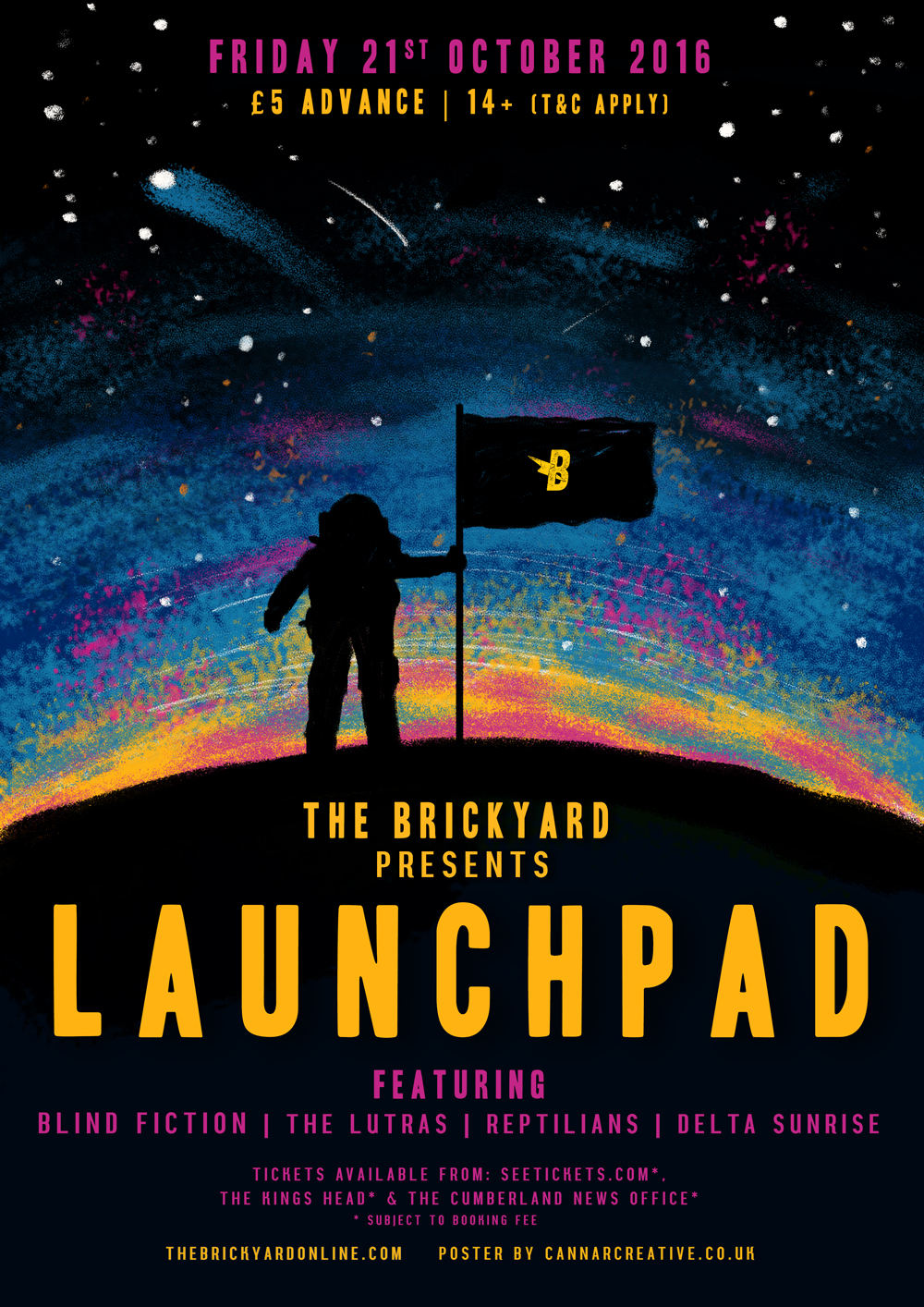 Launchpad at The Brickyard Space Illustration by Chelsea Cannar